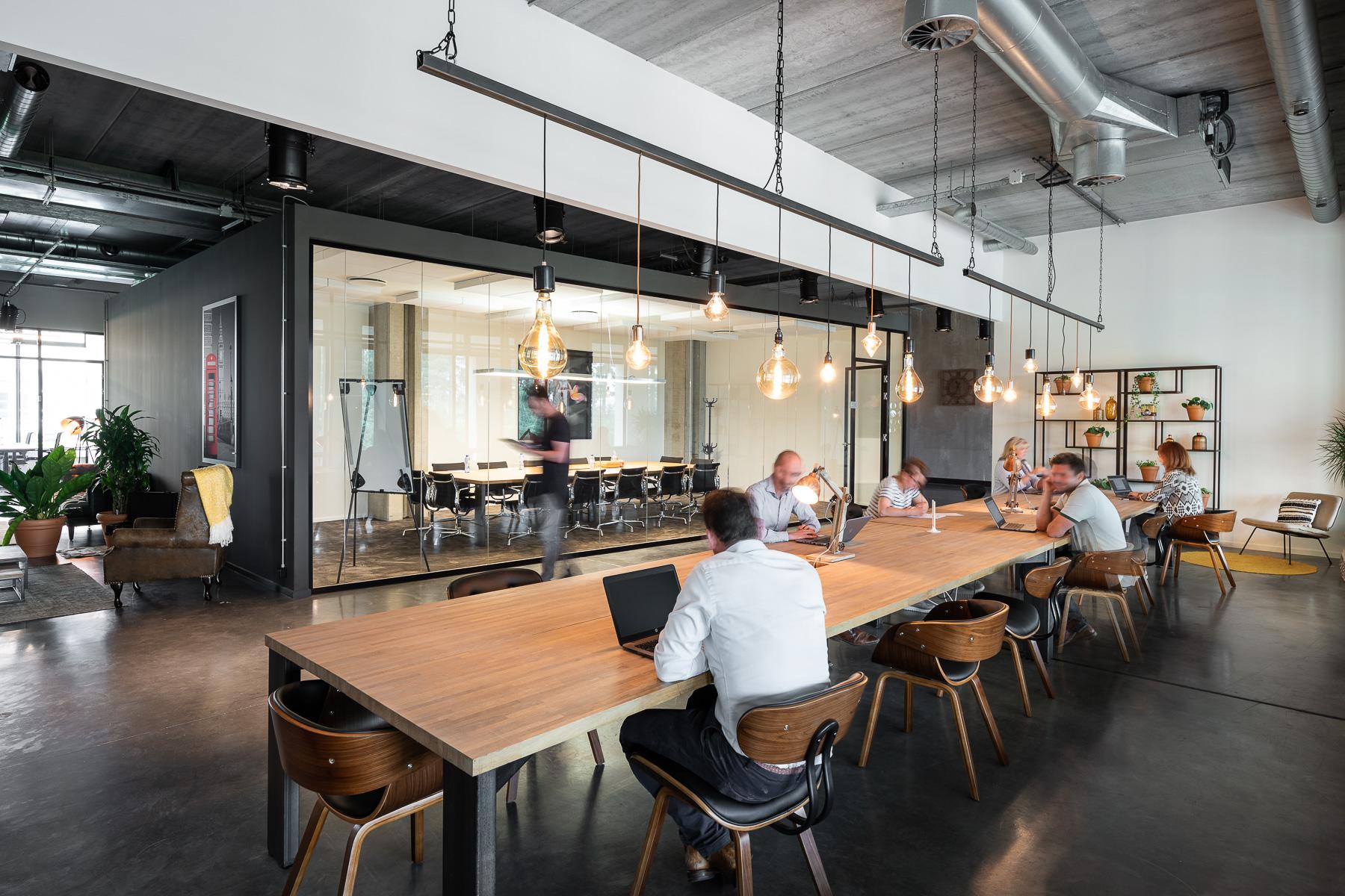Flex working spaces in Leuven