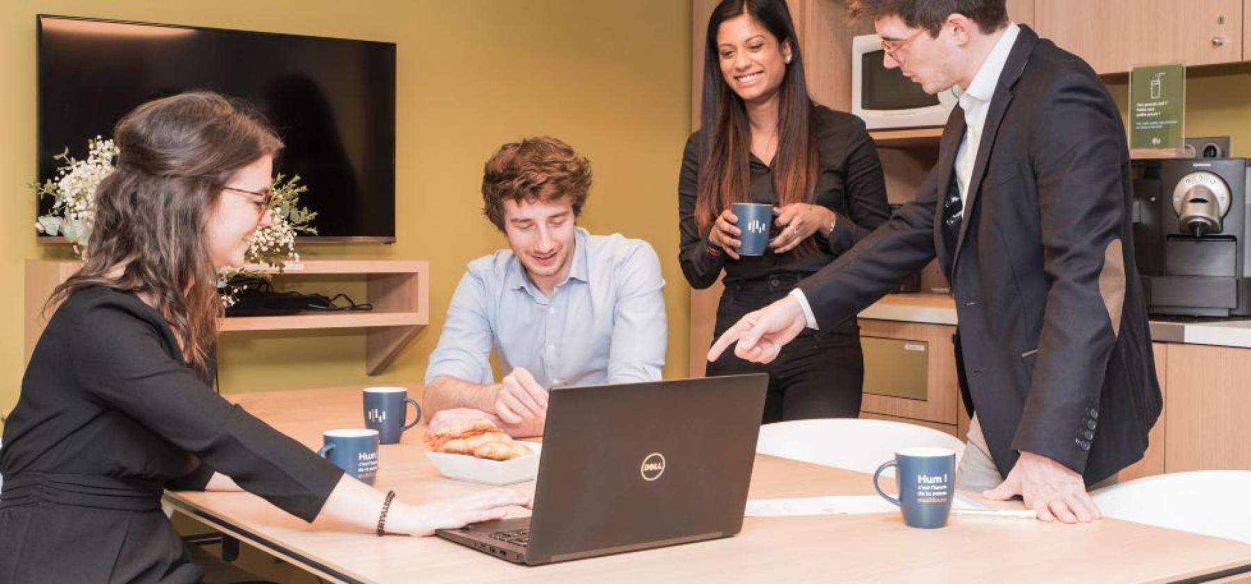 Venez travailler avec vos collègues dans l'uns de nos espaces de coworking à la rue Maurice Flandin