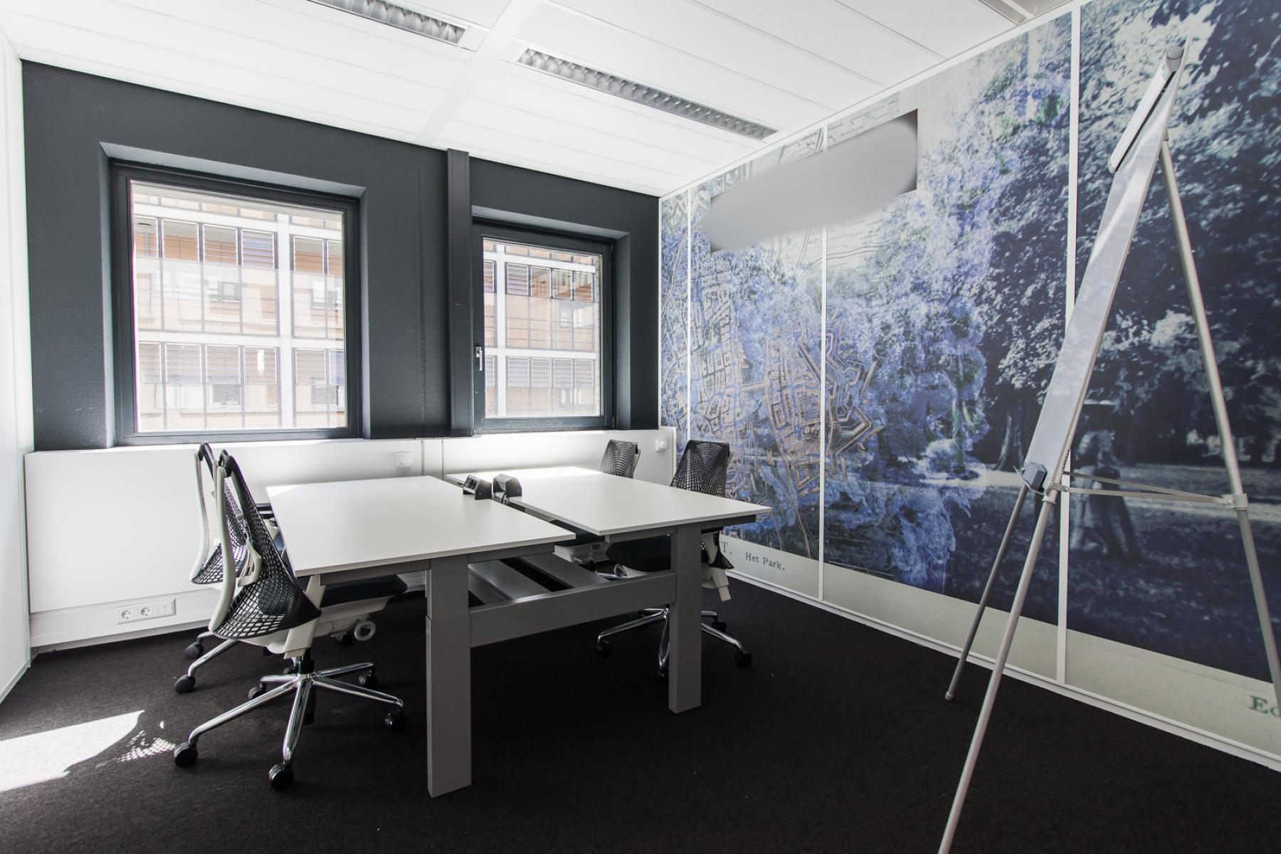 Empty and furnished office spaces for rent at the Boschstraat in Maastricht