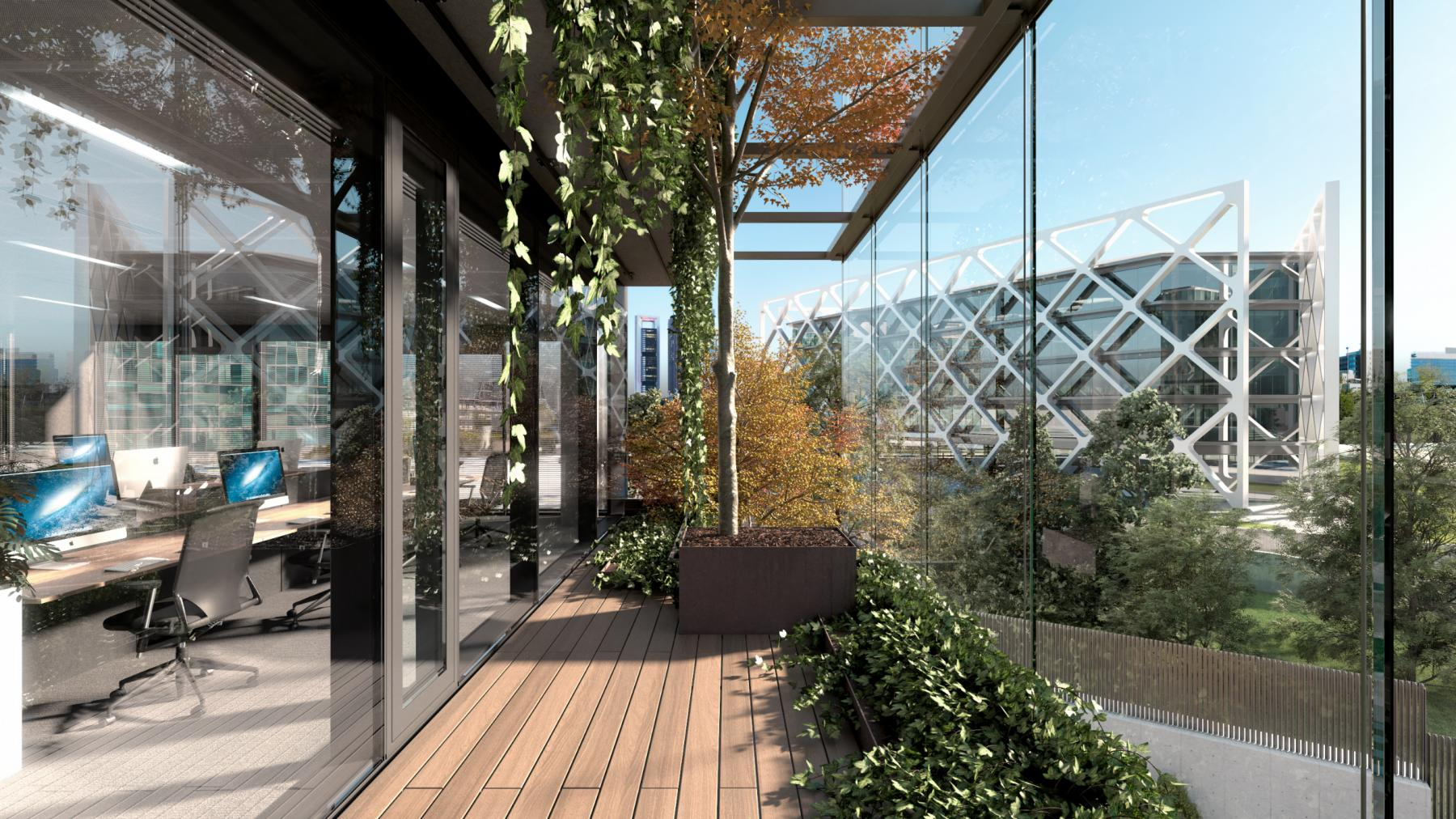 Alquilar oficinas Quintanadueñas 6, Madrid (1)
