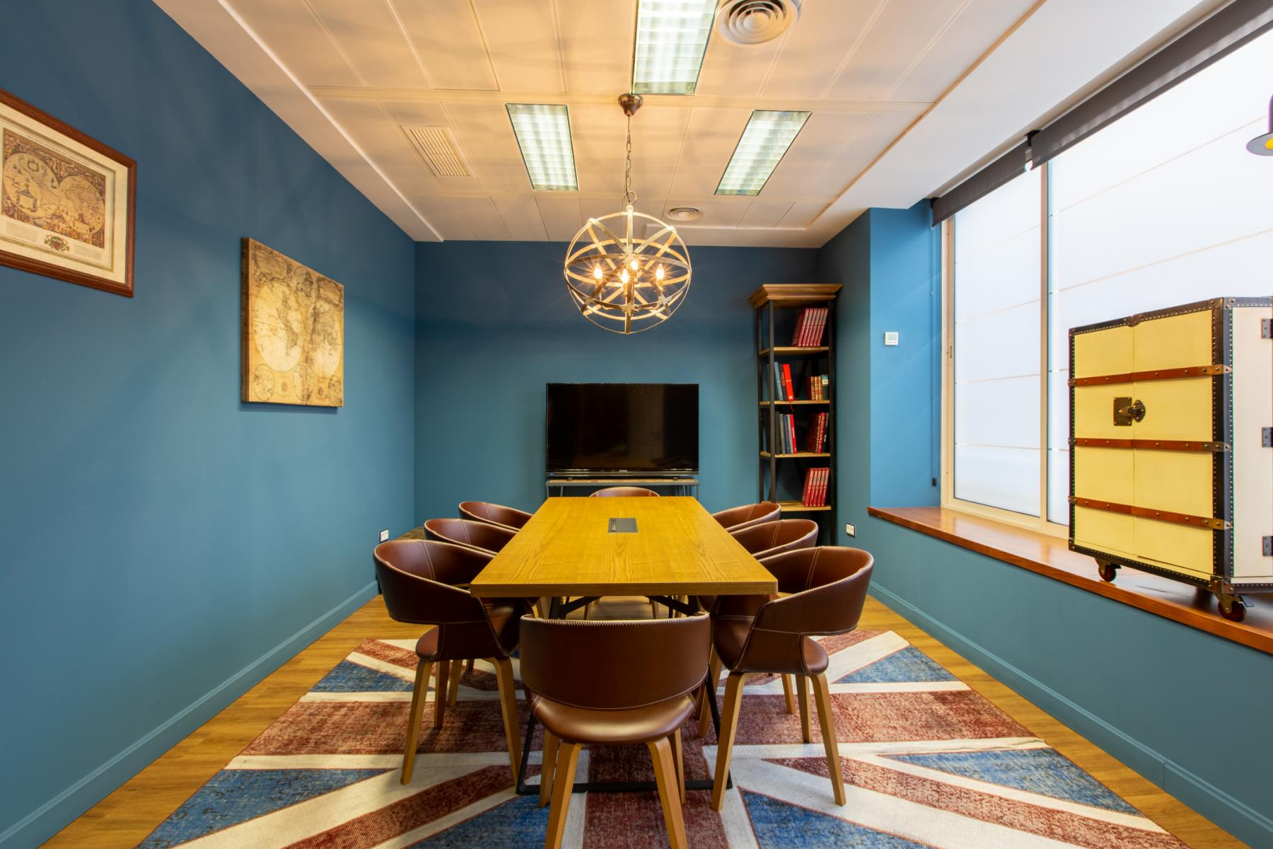 Creative meeting rooms to rent