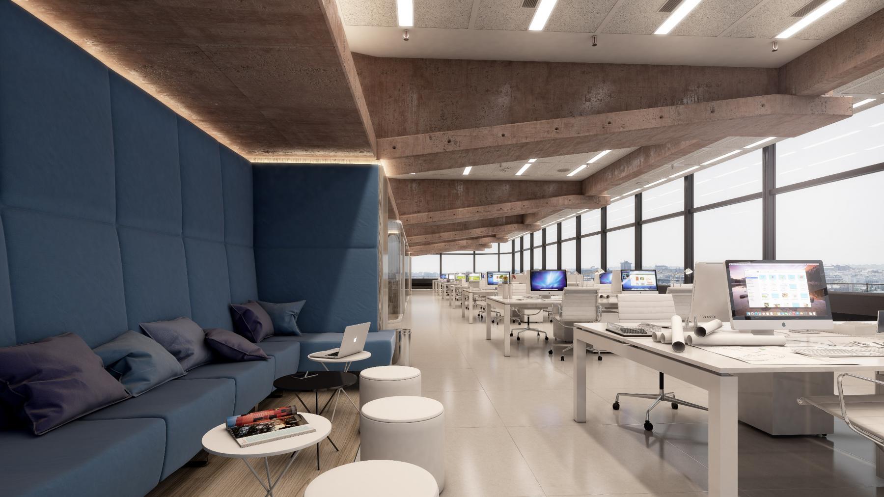 Alquilar oficinas Paseo de la Castellana 81, Madrid (5)