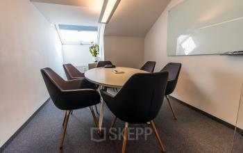 Modern common room in the business center in Munich, Viktualienmarkt