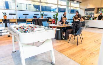 Diversified business lounge in Munich, Maxvorstadt