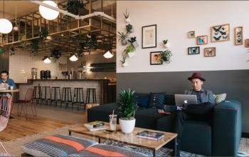 Büro mieten im Business Center in Maxvorstadt mit gemütlichen Gemeinschaftsbereich
