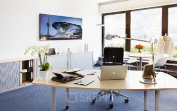 Hervorrangend ausgestattete Büroflächen mieten an der Leopoldstraße in Schwabing