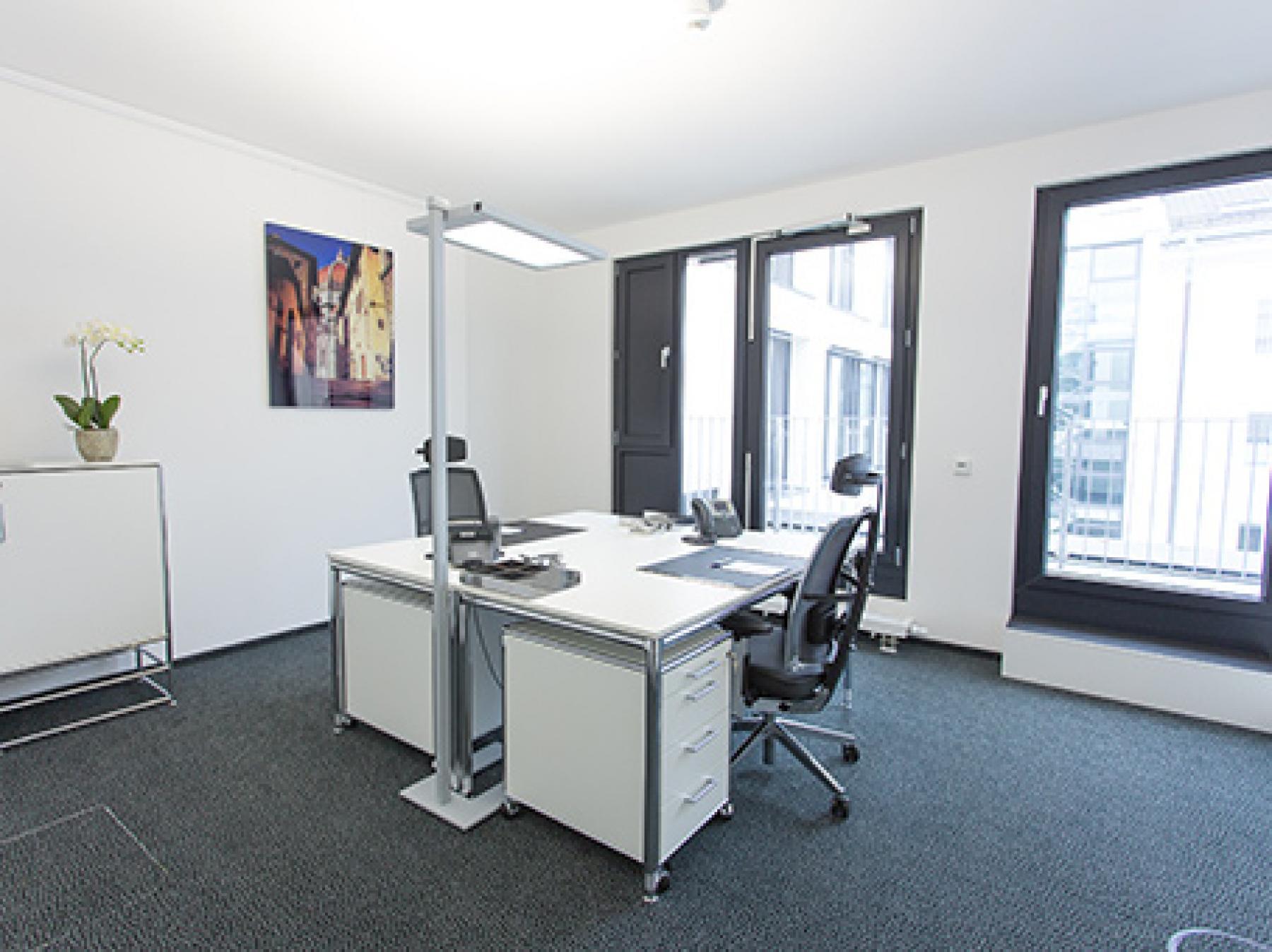 Großen Büroraum mieten im Business Center in München, Leopoldstraße