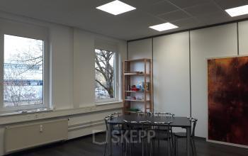 Soziales Herz der Bürofläche in München Pasing