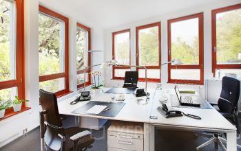 Geräumie Büroräume mieten im modernen Business Center in Sendling Radlkoderstraße