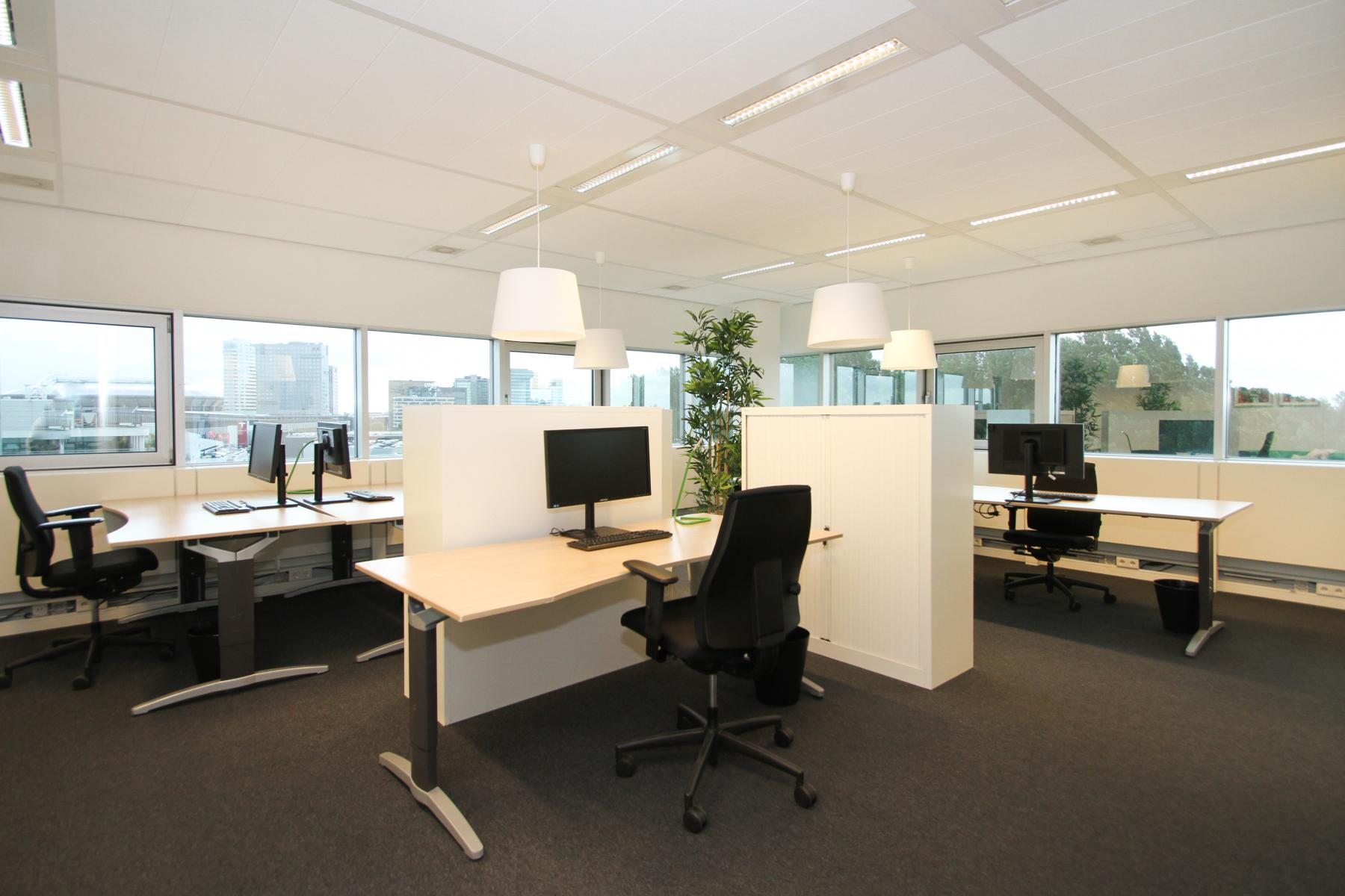 vloer overzicht kantoorruimte Amsterdam SKEPP