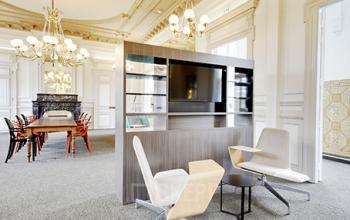 Salon d'affaires pour un moment de détente ou pour travailler en open-space à la rue de Dunkerque