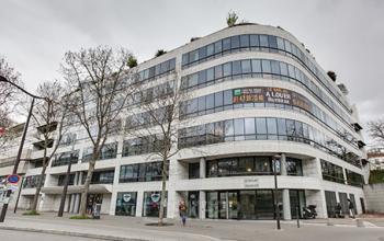 Façade immeuble de bureaux au Boulevard Victor