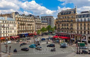 Bureaux avec vue sur les avenues parisiens