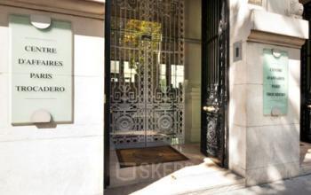 Entrée au centre d'affaires à Paris Trocadéro