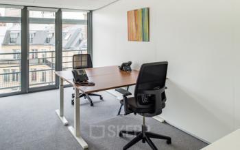 Cet espace de bureau pourra être votre futur lieu de travail à la rue Duret