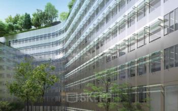 Immeuble entièrement rénové pour la location de bureaux à l'avenue Malakoff