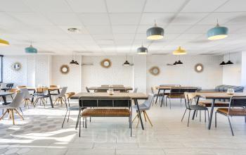 Espace commun spacieux pour passer des bons moments entre collègues au boulevard Gouvion Saint-Cyr