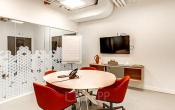 Petite salle de consultation dans la Rue Réaumur