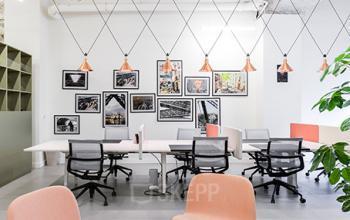 Espace de coworking dans la Rue Réaumur