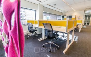 Zone de coworking dans notre centre d'affaires dans la Rue Saint Fiacre