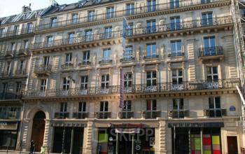 Magnifique immeuble de style haussmannien où vous pouvez louer des bureaux à la rue du Quatre-Septembre