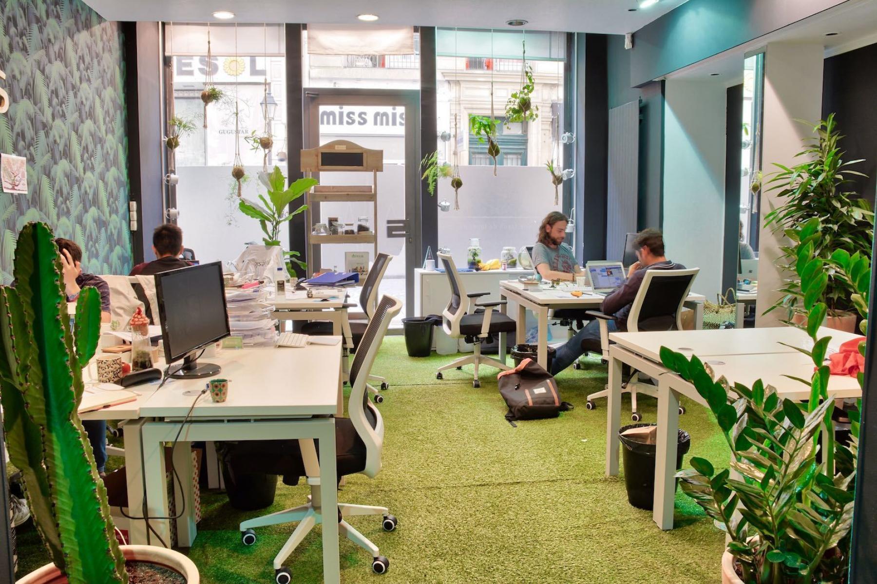 Nos espaces de coworking boostent l'energie et la motivation dans la rue Saint Denis