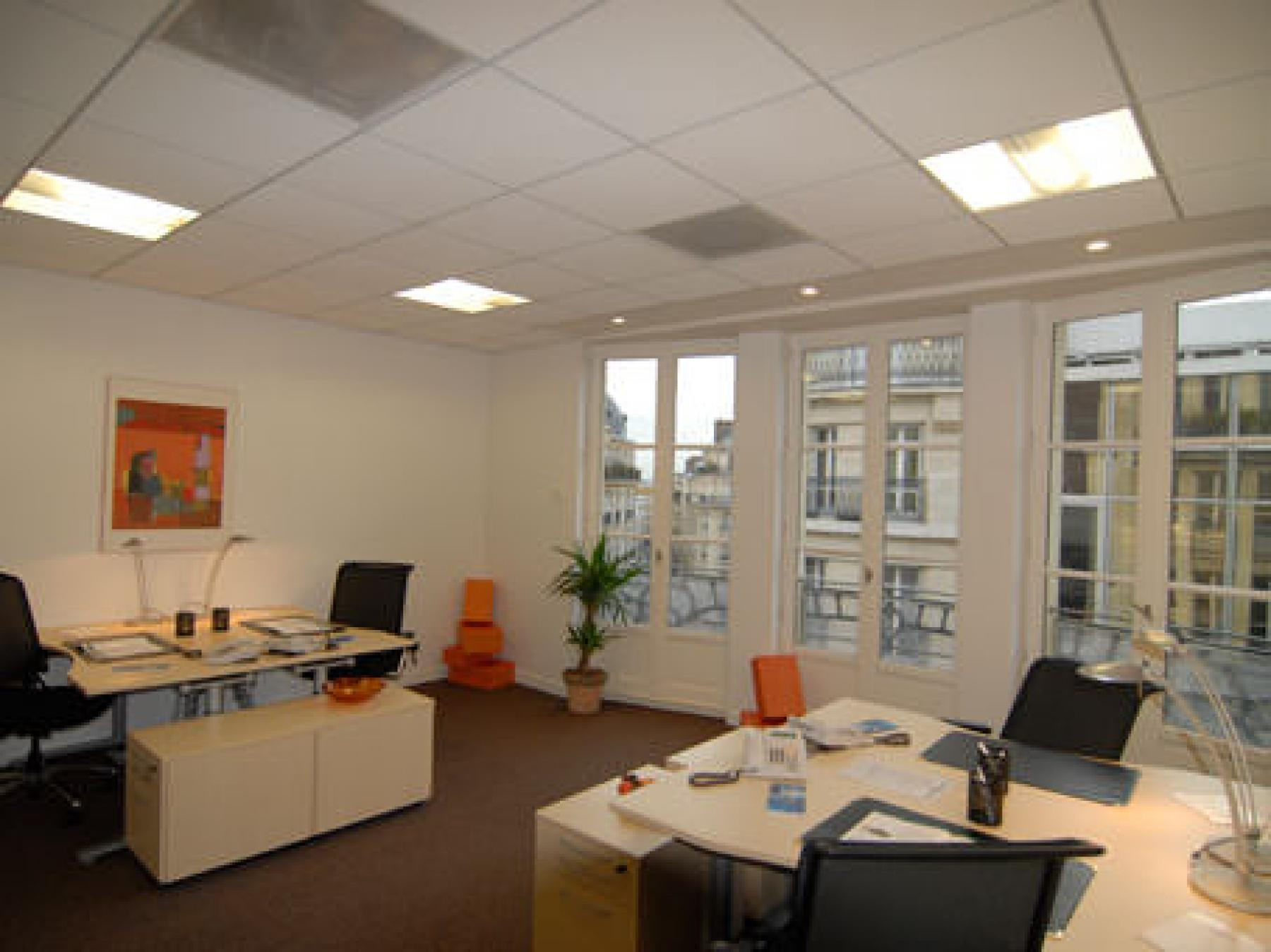 Bureaux partagés dans la Rue de Rennes
