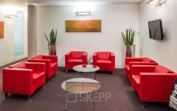 Salle d'attente où vous pourrez rencontrer vos clients et prospects à la rue Balzac