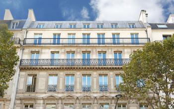 Centre d'affaires dans un bel immeuble Haussmannien au boulevard Malesherbes