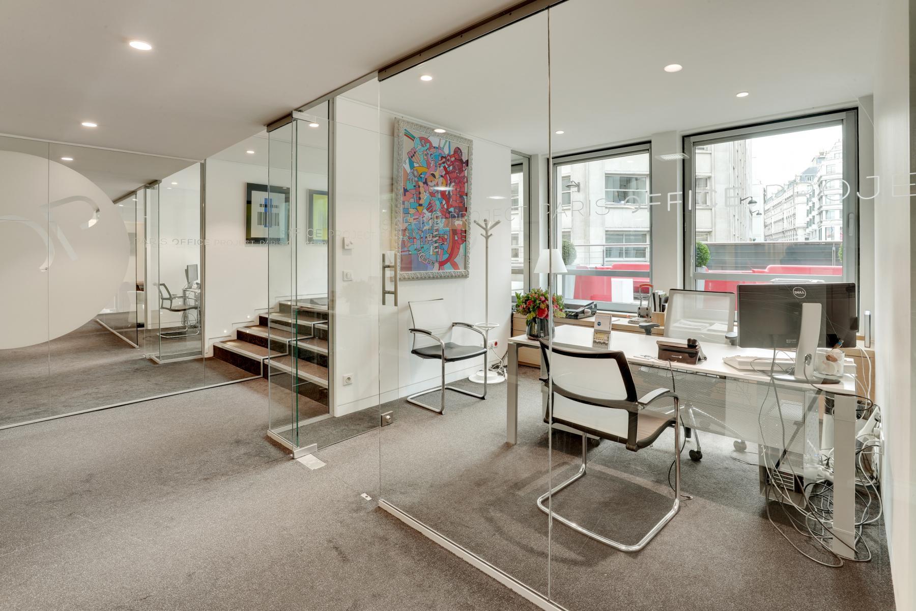 Location bureau Rue Quentin-Bauchart 20, Paris (14)