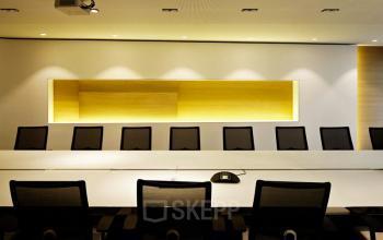 Salle de réunion haut de gamme pour accueillir vos clients avec professionnalisme dans la rue Quentin-Bauchart