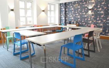 Cette salle est l'endroit idéal pour organiser vos formations ou séminaires dans la rue Saint Honoré