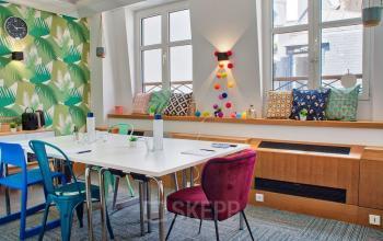 Espace pour vos entretiens ou pour des reunions en petits groupes dans la rue Saint-Honoré