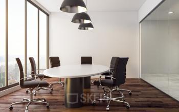 Cette salle de réunion sur le quai de la Charente est dotée de fauteuils confortables
