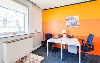 Nos bureaux lumineux sont décorés avec goût dans la rue de la Haye