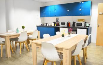 Venez préparer un délicieux repas dans notre cuisine à l'allée de l'Europe