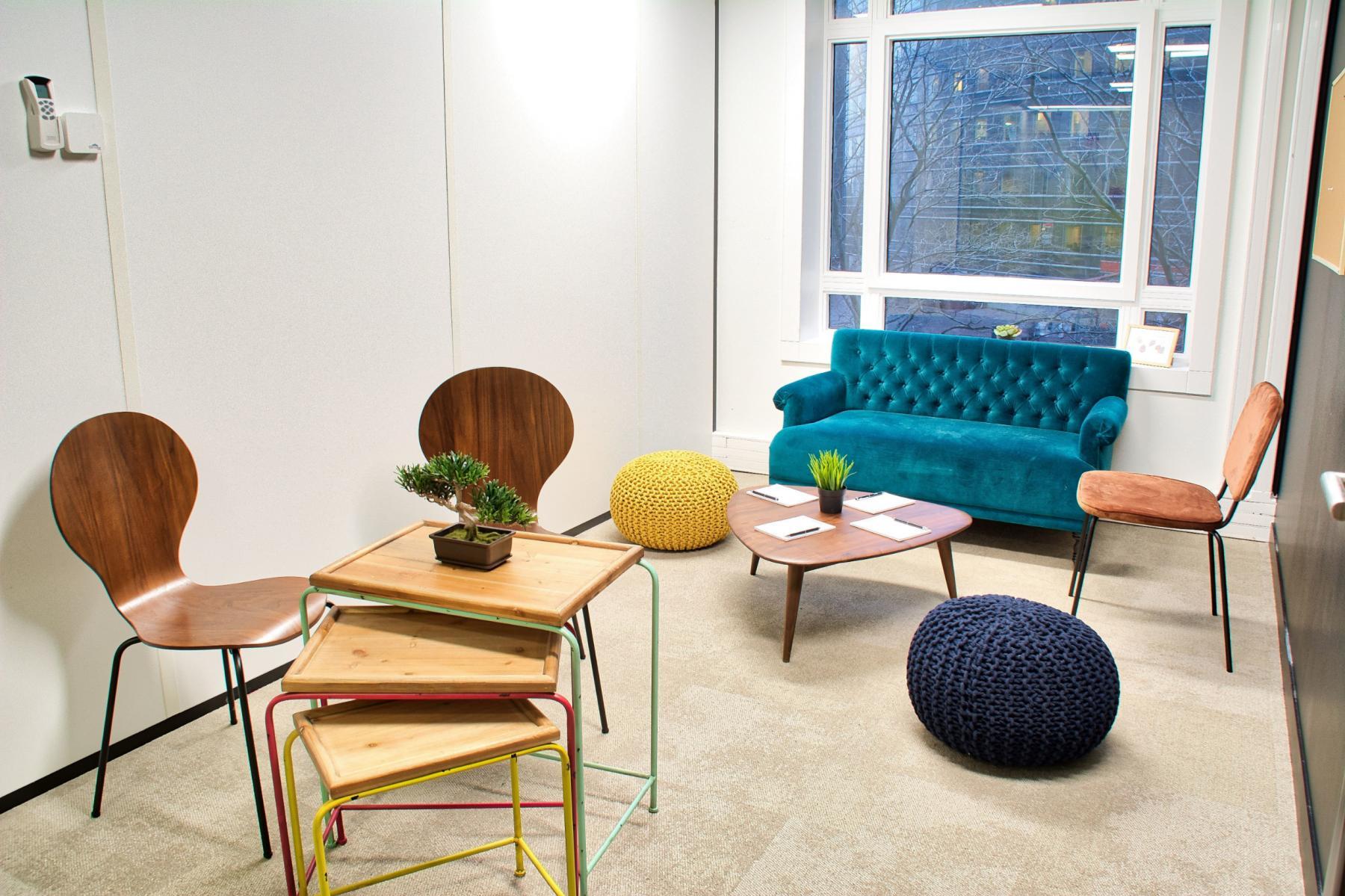 Dans cette salle de brainstorming vous pouvez partager vos meilleures idées au sein de votre équipe au cours Valmy