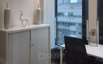 Ce bureau pourrait être votre futur lieu de travail à la Place de l'Iris