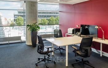 Nos bureaux sont équipés de fauteuils ergonomiques au stade de France