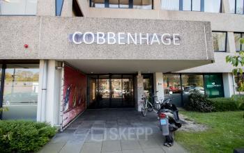 Entrance office space Treubstraat Rijswijk