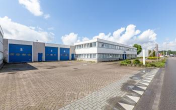 blue doors office space rooseldaal bruynzeel building