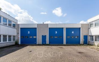 blue doors storage room roosendaal office