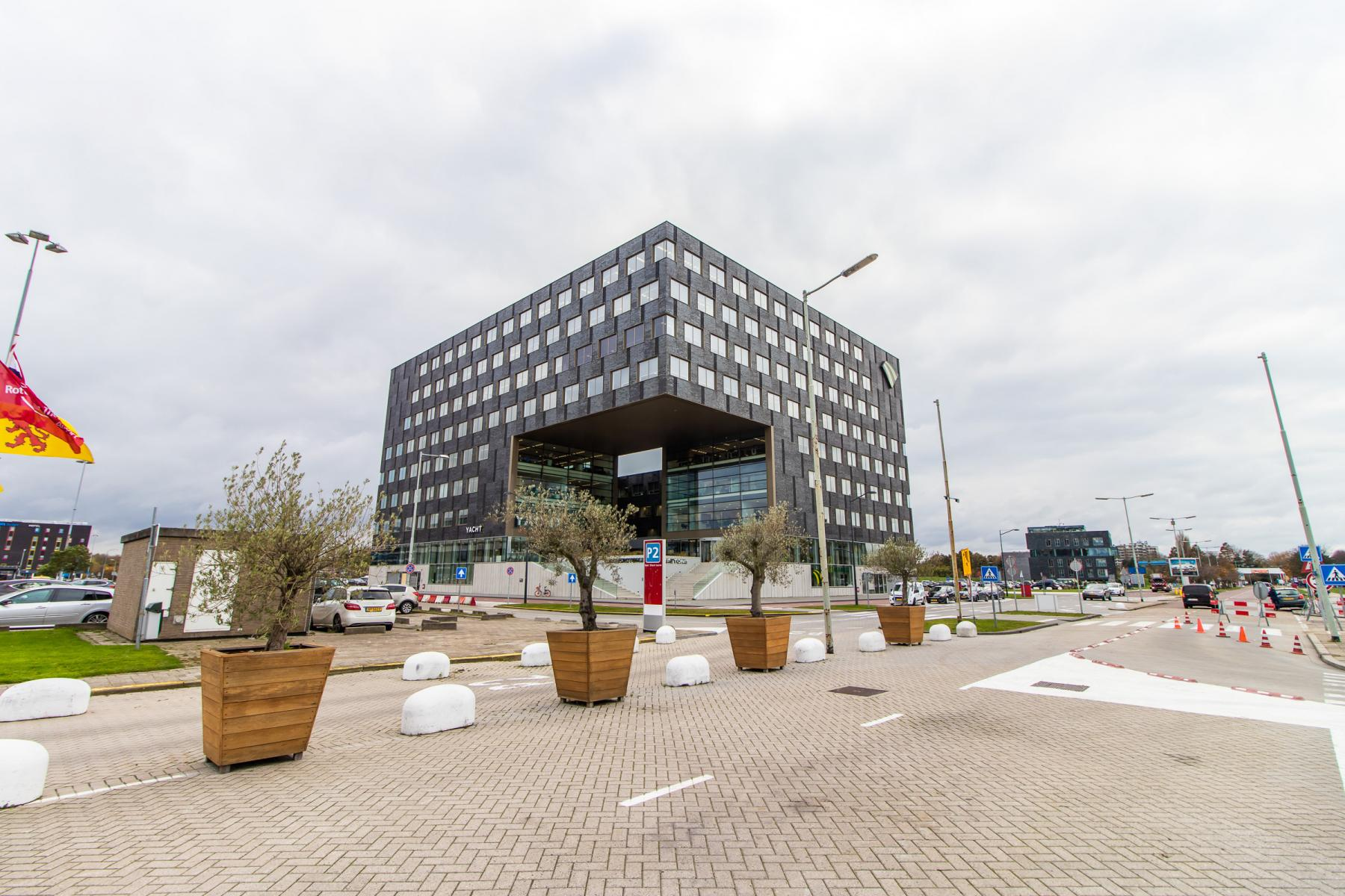 Outside office building Rotterdam Airportplein
