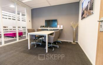 Several working stations in the office