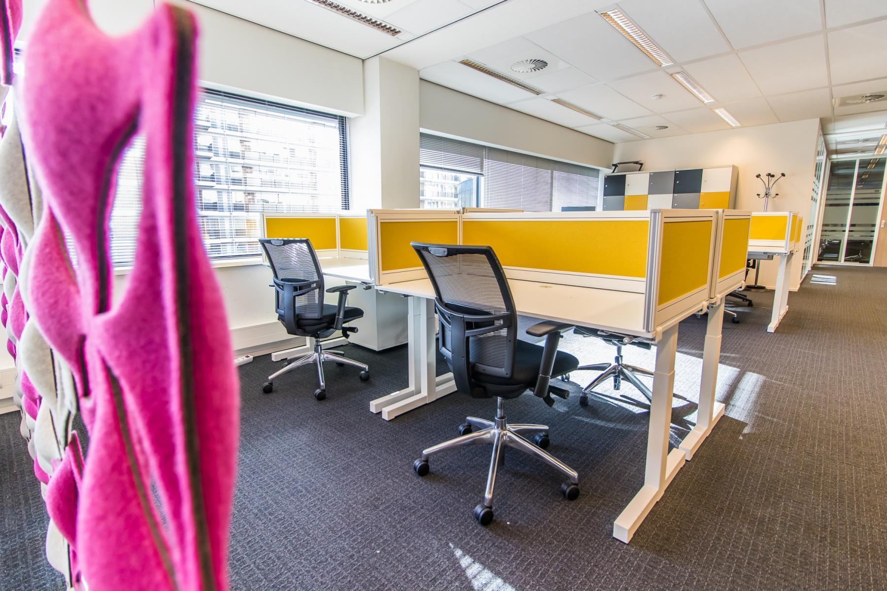 Flex desks Rotterdam