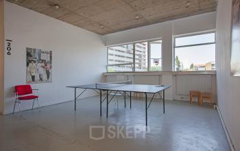 kantoorkamer huren in centrum rotterdam met pingpongtafel