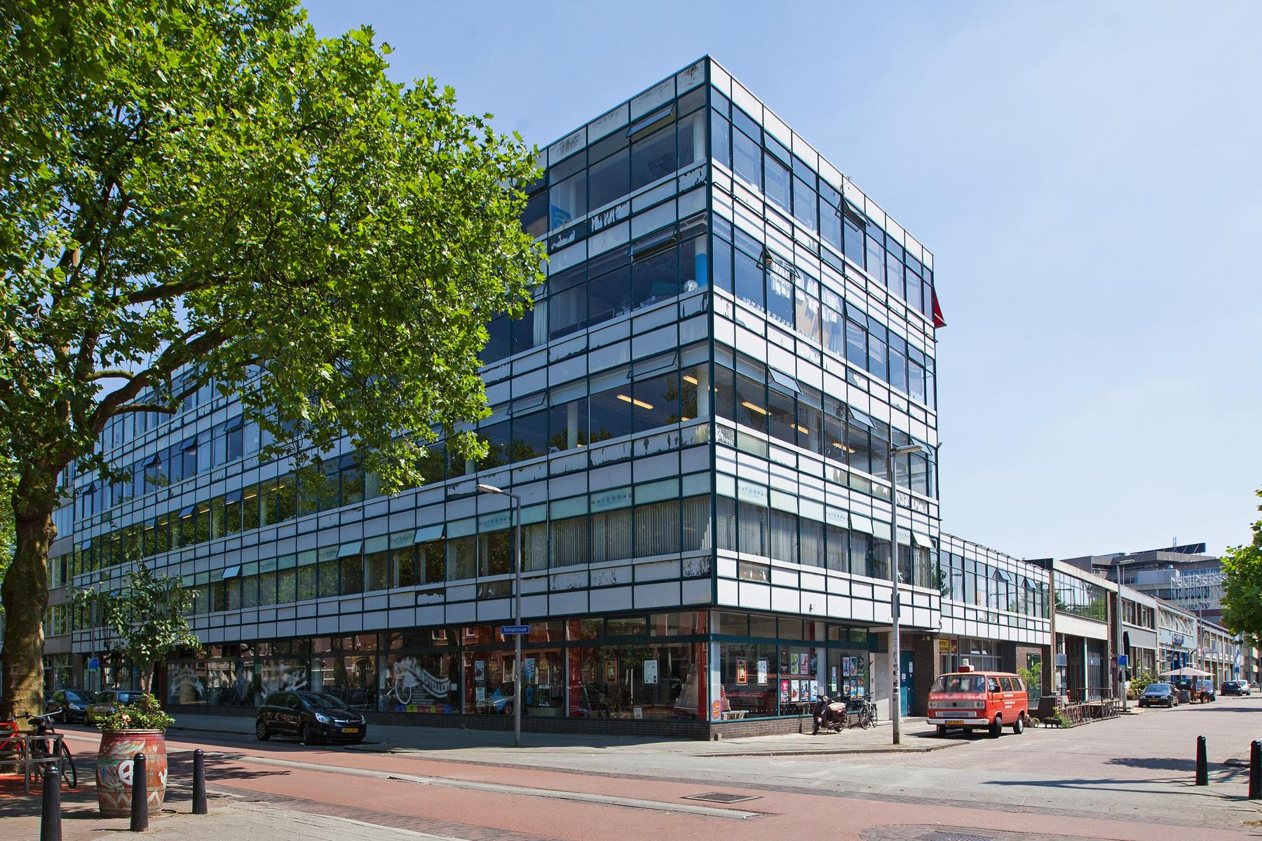 kantoorpand huren aan vijverhofstraat in rotterdam met parkeerruimte