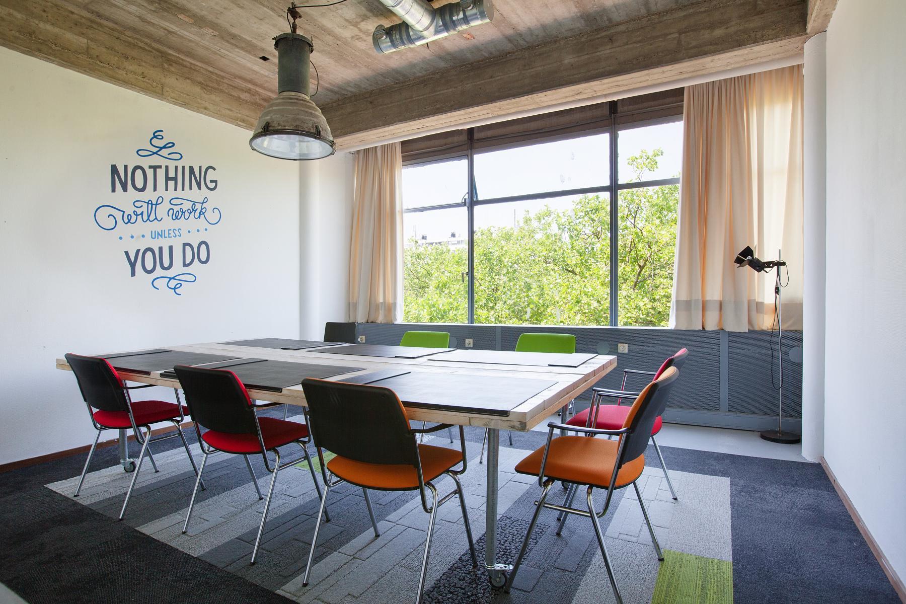 kantoorunit huren in centrum rotterdam met vergaderruimte