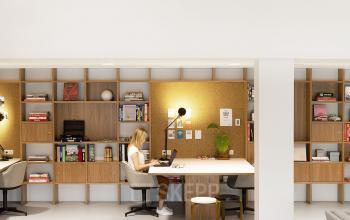 hofplein rotterdam te huur skepp kantoorunit werkplek meubilair