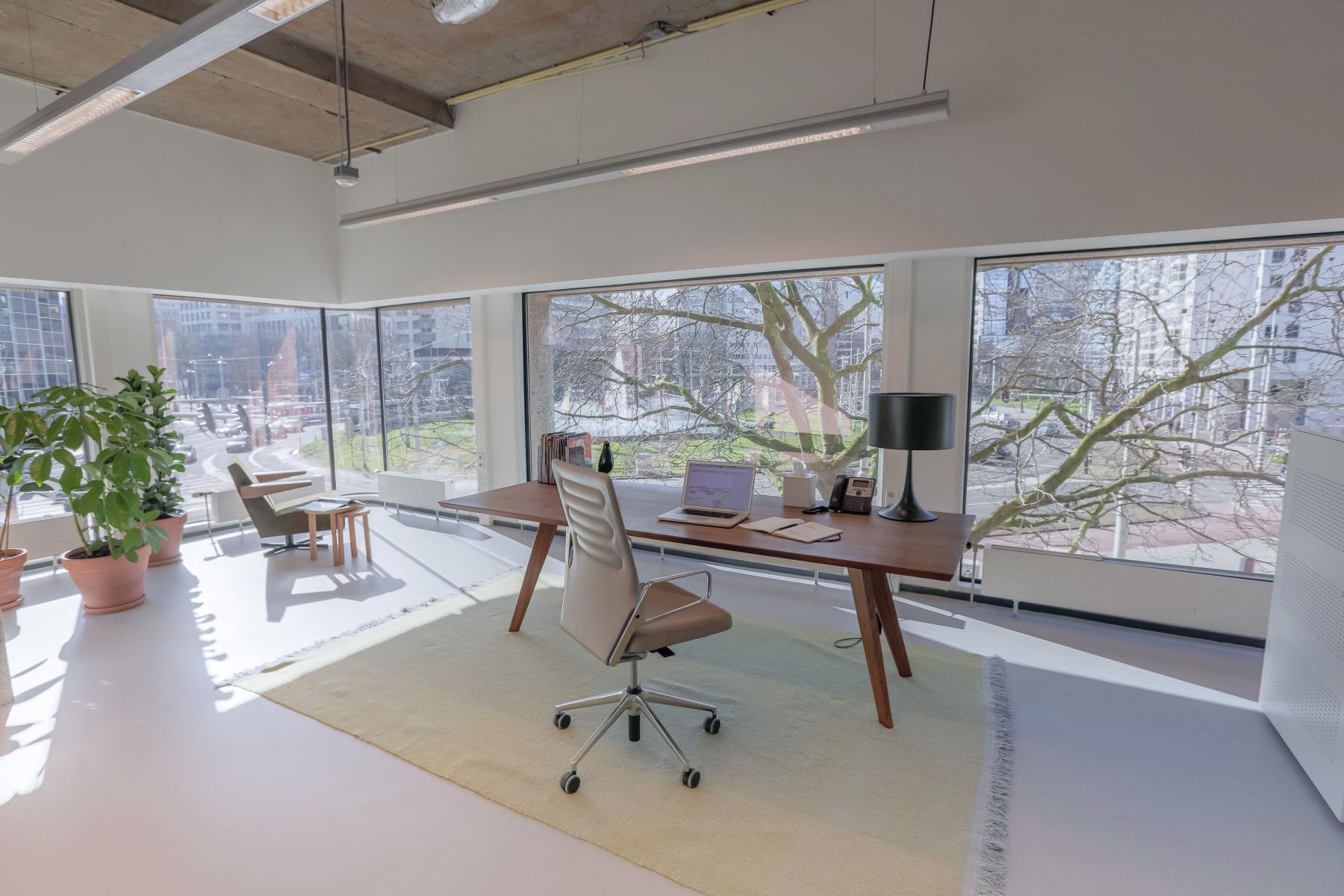 rotterdam hofplein kantoorunit uitzicht kantoorruimte huren